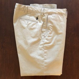 Ralph Lauren Polo Flat-Front pants